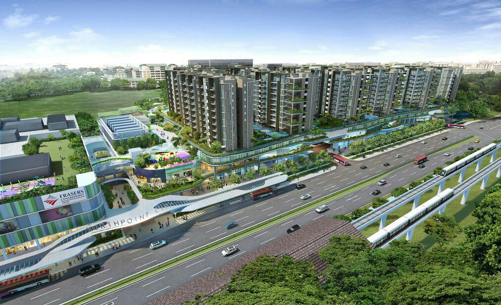 North Park Residences at Yishun MRT station averaging $1,350 PSF