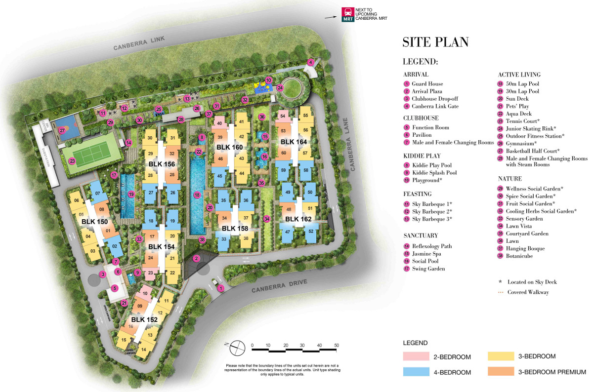 The Brownstone EC Site Plan Layout | The Brownstone EC Design